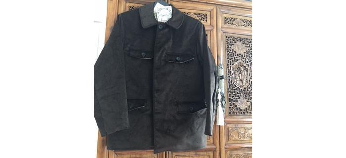 Vareuse (veste) NOIREvelours marque française le LABOUREUR