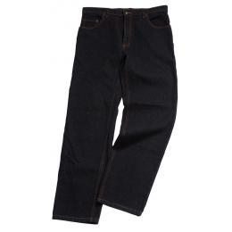 Pantalon jean bâtiment homme noir discount