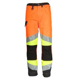 Pantalon Epi-ultra visibilité orange fluo / gris charcoal