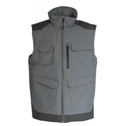 Gilet Bâtiment de froid craft worker gris convoy / noir