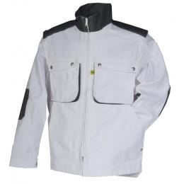 Blouson peintre Craft worker blanc / gris convoy
