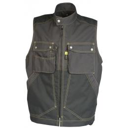 Gilet bâtiment homme Craft worker gris charcoal / noir