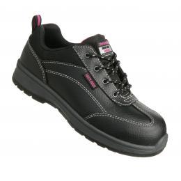 chaussure cuir de sécurité femme pas cher BESTGIRL S3P