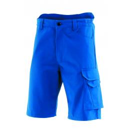 Bermuda de travail bleu KROSS LINE,  bleu bugatti