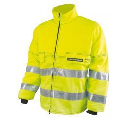 Veste de haute visibilité débroussaillage jaune