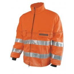 Veste de haute visibilité débroussaillage orange