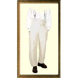 """Pantalon de travail Charpentier largeot à TIRANT NOIR en MOLESKINE TAILLE HAUTE Le LABOUREUR marque française une paire de bretelle """"HERCULE"""" est offerte voir photo"""