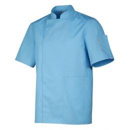 Veste de cuisine mixte Nero turquoise