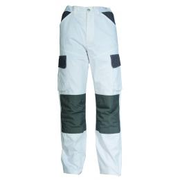 Pantalon craft paint blanc