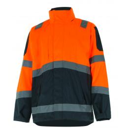 PARKA EPI FLUO ORANGE/GRIS FONCE