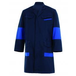 Blouse Facity bleu marine/bleu royal