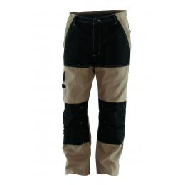 pantalon Craft Worker renforcé savane/noir